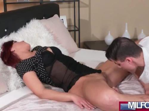 Redhead milf and her toyboy lover(jessica red) 01 mov-23